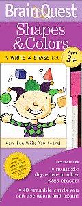 Brain Quest Write & Erase Set: Shapes & Colors
