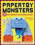 Papertoy Monsters: Make Your Very Own Amazing Papertoys! Cover