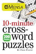 Mensa 10-Minute Crossword Puzzles