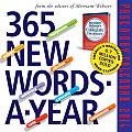 365 New Words-a-Year 2014 Calendar