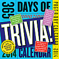 365 Days of Amazing Trivia 2014 Calendar Cover