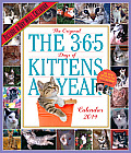 365 Kittens-A-Year 2014 Wall Calendar