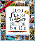 Cal14 1000 Places to See Before You Die 2014 Wall Calendar