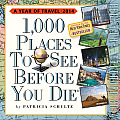 Cal14 1000 Places to See Before You Die 2014 Page A Day Calendar