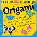 Origami 2014 Calendar
