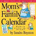 Mom's Family Calendar [With Sticker(s) and Magnetic Board]