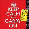 Keep Calm and Carry on Page-A-Day