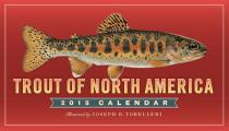 Trout of North America 2015 Wall Calendar