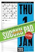 Sudoku Page-A-Day Notepad and 2015 Calendar