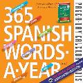 365 Spanish Words-A-Year Page-A-Day