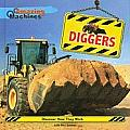 Diggers (Amazing Machines) Cover
