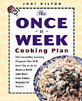 The Once-a-week Cooking Plan