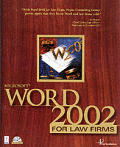 Microsoft Word 2002 For Law Firms with CD