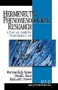 Hermeneutic Phenomenological Research A Practical Guide for Nurse Researchers