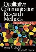 Qualitative Communication Research 2nd Edition