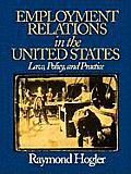 Employment Relations in the United States Law Policy & Practice