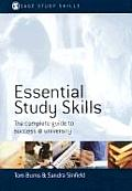 Essential Study Skills The Complete Guide to Success at University