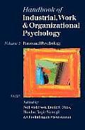 Handbook of Industrial, Work & Organizational Psychology: Volume 1: Personnel Psychology