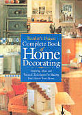 Readers Digest Complete Book Of Home Dec