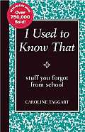 I Used to Know That Stuff You Forgot from School
