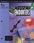 Mathscape: Chance Encounters: Probability in Games and Simulations (98 Edition) Cover