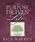 Purpose Driven Life Mini Book