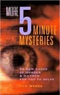 More Five Minute Mysteries 34 New Cases
