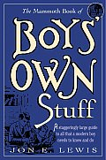 The Mammoth Book of Boy's Own Stuff (Mammoth Books) Cover