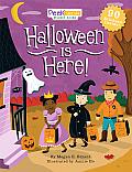 Halloween Is Here! (Peek Inside Sticker Books)