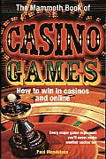 The Mammoth Book of Casino Games Cover