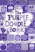 Purple Doodle Book