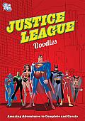 DC Comics Justice League Doodles Amazing Adventures to Complete & Create