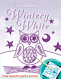 Scratch & Stencil: Wintery White