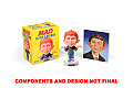 Mad: Alfred E. Neuman Mini Bobblehead Kit