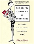 The Gospel According to Coco Chanel: Life Lessons from the World's Most Elegant Woman Cover