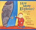 How Many Elephants?: A Lift-The-Flap Counting Book
