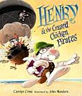 Henry & the Crazed Chicken Pirates Cover