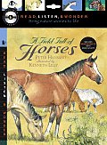 Field Full of Horses With Paperback Book