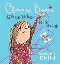Clarice Bean, Guess Who's Babysitting (Clarice Bean) Cover