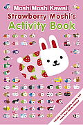 Strawberry Moshi's Activity Book (MoshiMoshiKawaii) Cover