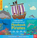 Playbook Pirates [With Stand-Up Play Pieces and Foldout 3D Play Mat]
