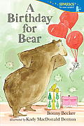 Birthday for Bear Candlewick Sparks