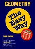 Barrons Geometry The Easy Way 3rd Edition