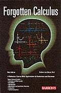 Forgotten Calculus 3rd Edition