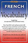 French Vocabulary 2nd Edition