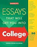 Essays That Will Get You Into College 2nd Edition