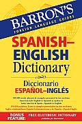 Barrons Spanish English Dictionary Diccionario Espanol Ingles