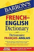 Barrons French English Dictionary Dictionnaire Francais Anglais