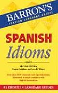 Spanish Idioms (Barron's Idiom) Cover