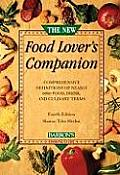 New Food Lovers Companion 4th Edition